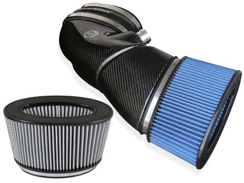 aFe BMW E90 Magnum FORCE Stage-2 Carbon Fiber Cold Air Intake (M3)