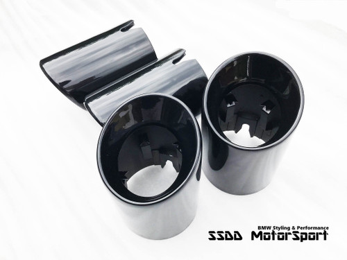 "BMW S55 F80 M3 F82 F83 M4 3.75"" Slip-On Exhaust Tips"