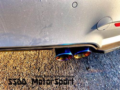 "BMW S55 F80 M3 F82 F83 M4 3.75"" Slip-On Exhaust Tips"