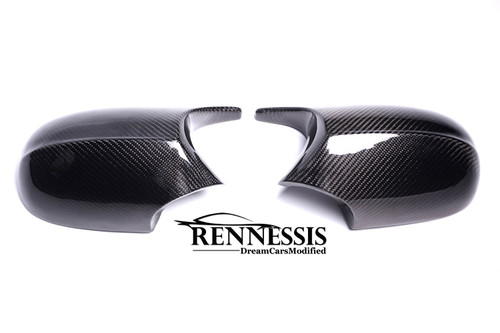 E90 E91 E92 E93 M3 Look Carbon Fibre Mirror Covers