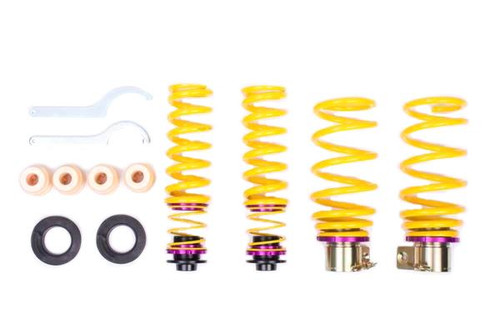 KW BMW E82 1M & E90 E92 M3 Height Adjustable Lowering Springs