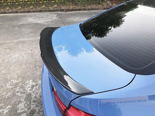 RENNESSISF30 F80 M3 PSM Look Carbon Rear Boot Lip Spoiler