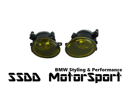 BMW E46 M3 MSPORT M3 E39 M5 Yellow Fog Lights