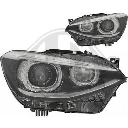 BMW F20 F21 12-14 Angel Eyes Projector Headlights