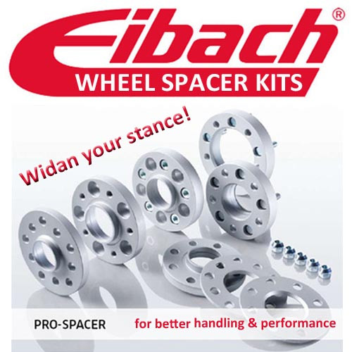 Eibach 15mm Wheel Spacers for Porsche 911 (996 997 991)