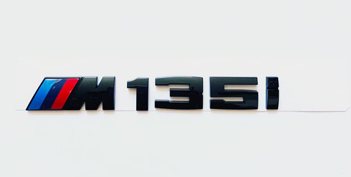 Gloss Black F20 F21 M135i Rear Emblem