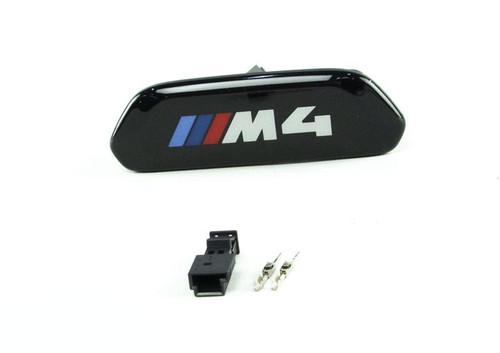 GENUINE BMW F82 F83 M4 Illuminated Seat Emblem 52109503039