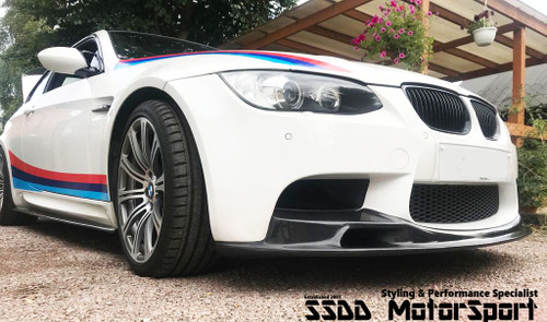 BMW E90 E92 E93 M3 VRS II Racing Carbon Fibre Front Lip Splitter With Air Intake