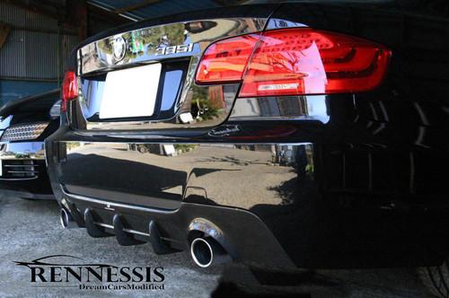 E92 E93 335i RENNESSIS EVO 2 Carbon Rear Diffuser