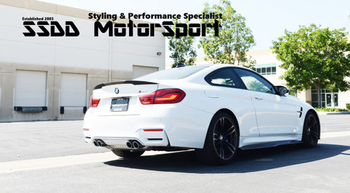 BMW F80 M3 F82 F83 M4 PSM Style Carbon Side Skirt Extensions