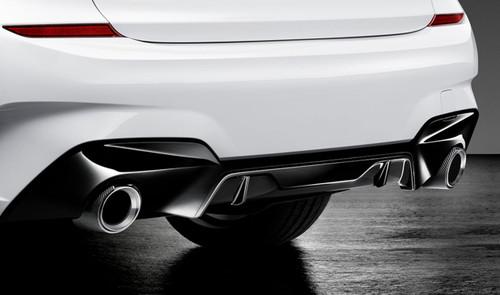 GENUINE BMW G20 G21 M Performance Gloss Black Diffuser Kit