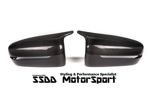 BMW G20 G21 3 Series M Look Carbon Fibre Mirror Covers
