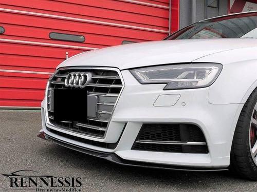 Audi 8V S3 A3 S Line DTM Carbon Fiber Front Splitter