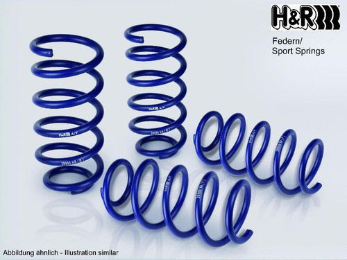 H&R Performance Lowering Springs 30mm Tesla Model 3 AWD 2018+
