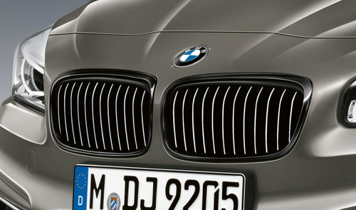 GENUINE BMW M Performance Gloss Black Grilles F45 F46 LCI
