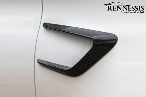 Mercedes Benz W205 C63 AMG Carbon Fiber Fender Vents