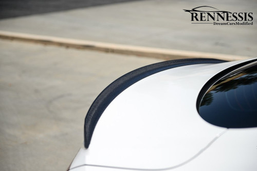 Mercedes W205 C Coupe C300 C43 C63 AMG Carbon Fiber Boot Spoiler