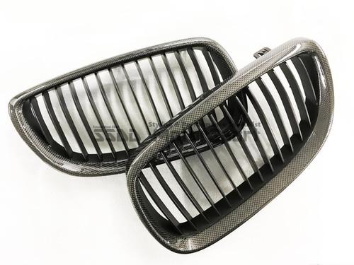E92 E93 & E9X M3 Genuine Carbon Fibre Kidney Grilles