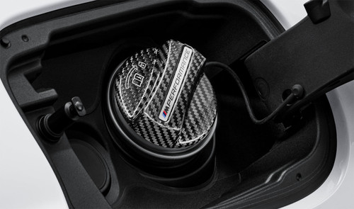 Genuine BMW M Performance Carbon Fuel Filler Cap 16112472988