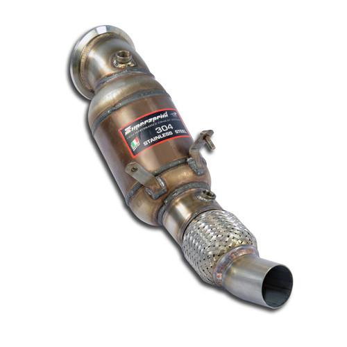 Supersprint Downpipe & Metallic catalytic converter(Without ECE-Approval) for BMW F20 F21 F22 F23 F30 F31 F32 F36