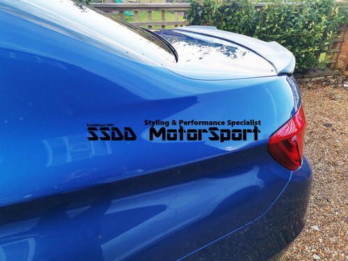 BMW F10 & F10 M5 CS Inspired Carbon Boot Spoiler