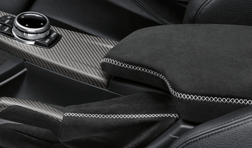 Genuine BMW FX 3 4 Series M Performance Carbon Alcantara Armrest