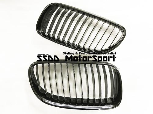 BMW E92 E93 LCI (Non M3) Gloss Black Kidney Grilles