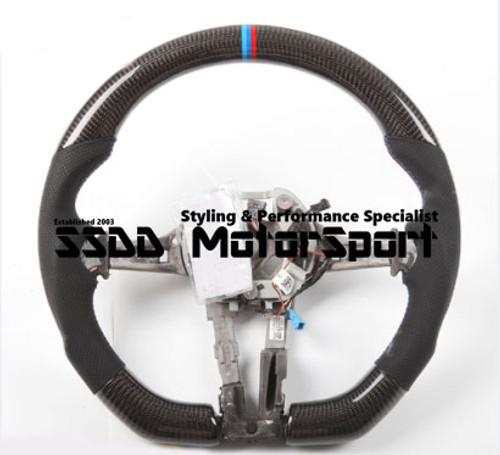 BMW FX 1 2 3 4 Series Carbon Flat Bottom Steering Wheel