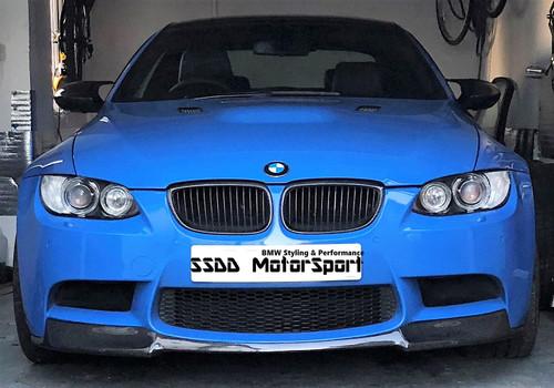 BMW E92 M3 vorsteiner style carbon front splitter