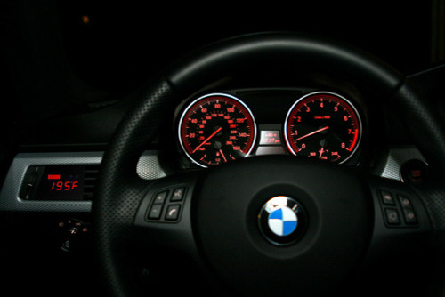 P3 Gauges V2 BMW E90 E91 E92 E93 05-07 Multi-Gauge