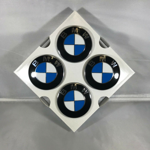 Genuine BMW Floating Wheel Centre Hub Caps 56mm 36122455268