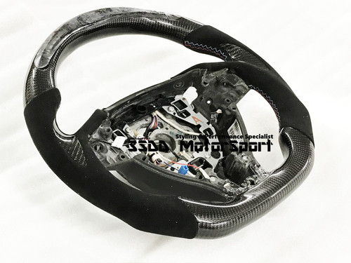 BMW F10 M5 PRE-LCI Flat Bottom Carbon LCD Race Display Steering Wheel