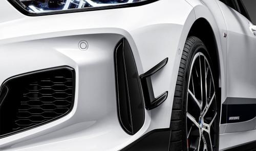 Genuine BMW F40 M Performance Bumper Flicks Canards