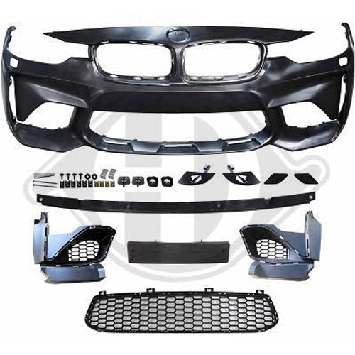 M2 Style Front Bumper Kit for BMW F30 F31 3 Series