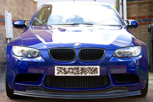 BMW E92 M3 GTS Front Splitter