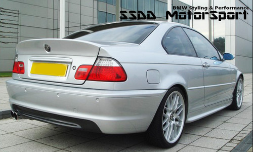 BMW E46 Coupe CSL Style Bootlid - FRP Plastic