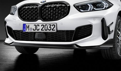 Genuine BMW F40 M Performance Front Splitter Gloss Black