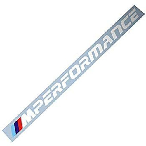 Genuine BMW F40 M Performance Lettering Side Stickers