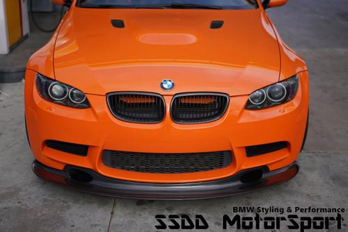 BMW E90 E92 E93 M3 GT4 MotorSport Carbon Fibre Front Lip Splitter