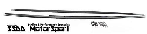 Gloss Black BMW F30 F31 M Performance Look Side Skirt Extensions