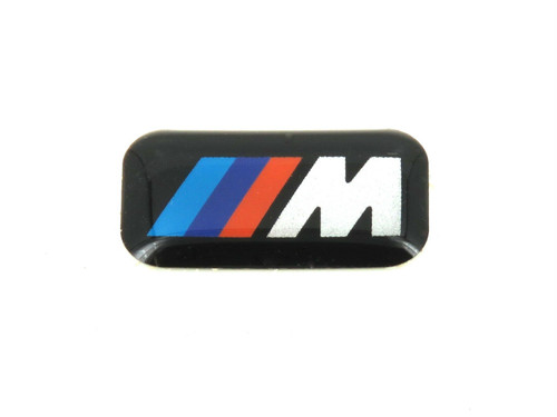 Genuine BMW Alloy Steering Wheel M Emblem Badge 36112228660