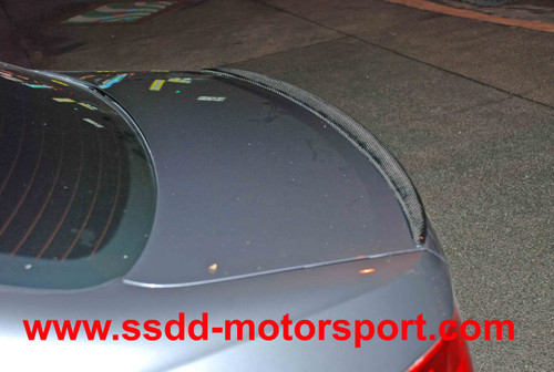BMW E92 M3 Style Carbon Fibre Rear Boot Lip Spoiler
