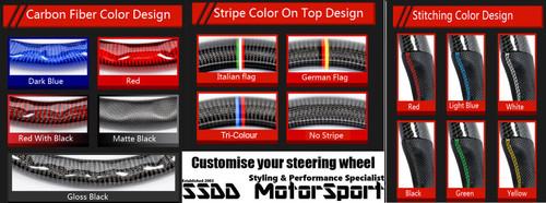 BMW F1X 5 6 X5 X6 Series Custom Flat Bottom Carbon Steering Wheel