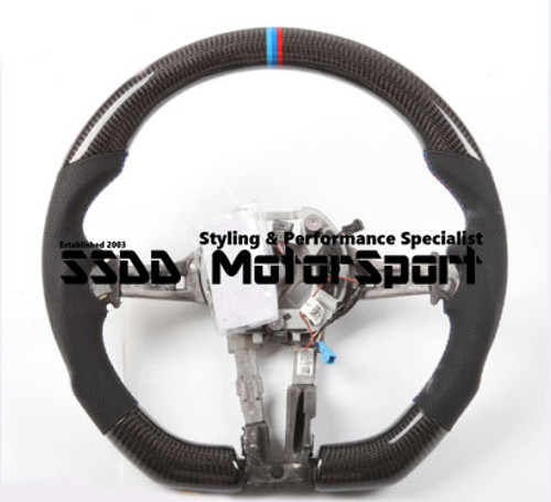 BMW F1X 5 6 X5 X6 Series Custom Flat Bottom Carbon Steering Wheel