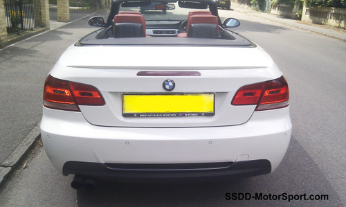Painted E93 Convertible M3 Style Rear Boot Lip Spoiler