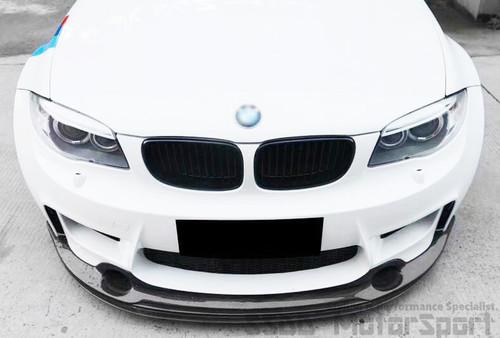 BMW E82 1M Coupe EVO Carbon Front Lip Splitter