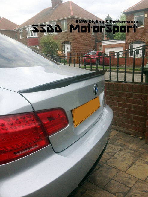 BMW E92 Coupe Performance Look Carbon Fibre Boot Spoiler