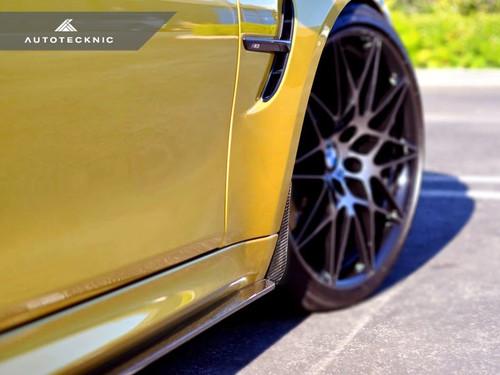 AUTOTECKNIC BMW F8X M3 M4 Carbon Front Arch Splash Guards