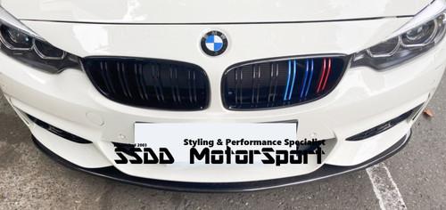 Aero Carbon Fibre Front Splitter for BMW F32 F33 F36 Msport