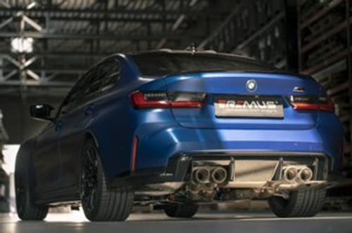 REMUS BMW G8X M3 M4 Axle Back SPORT Exhaust System
